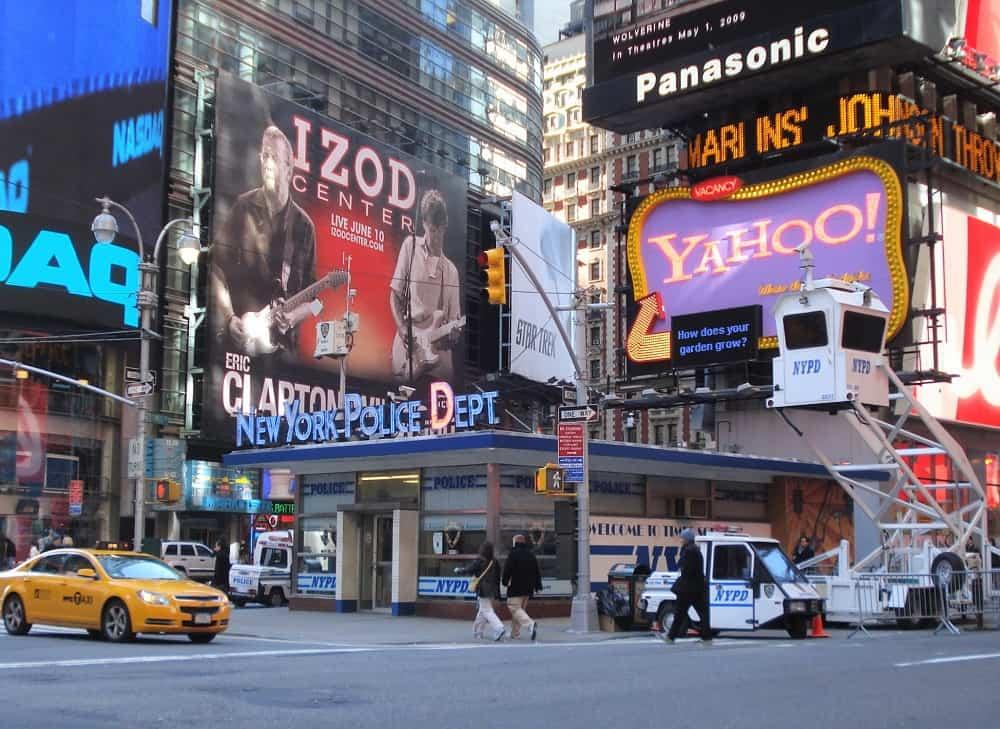 Comisaría Policía en Times Square