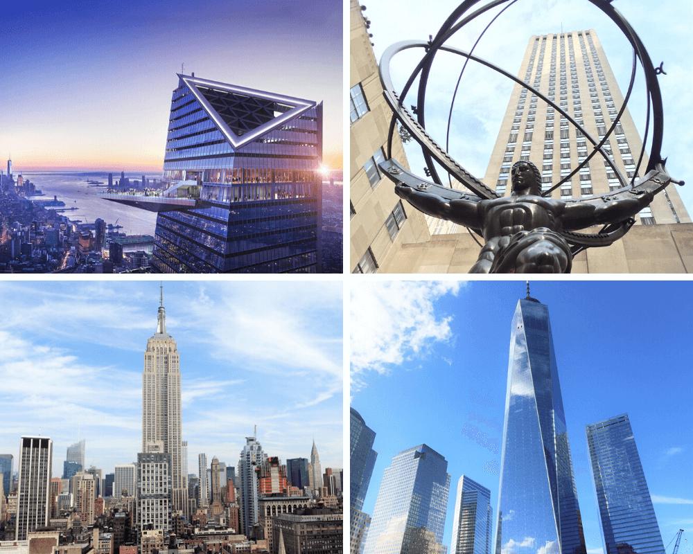 Rascacielos de Nueva York para subir
