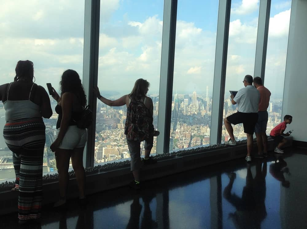 Vistas desde el One World Observatory