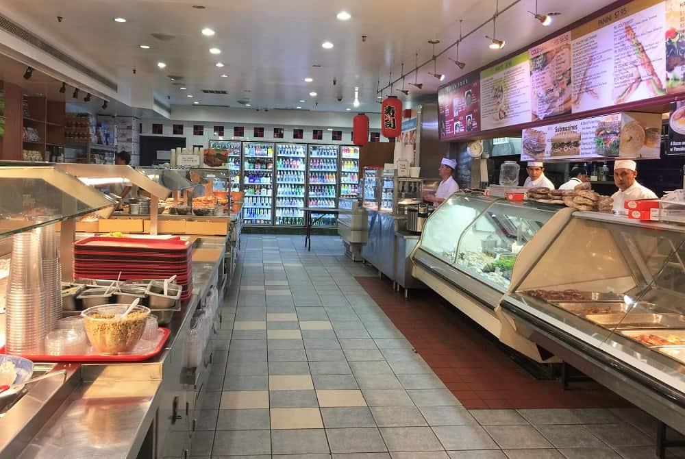 Comer en Delis en Nueva York