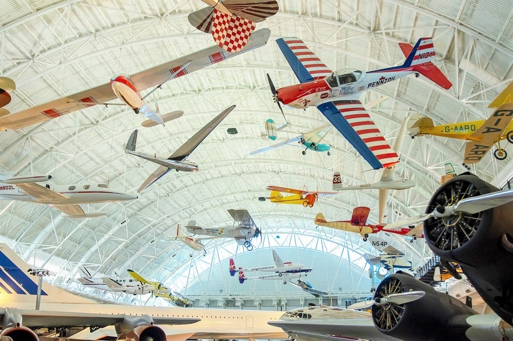 Aviones Museo Smithsonian Washington