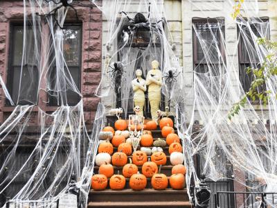 Celebrar Halloween en Nueva York ¡disfraces y calabazas!