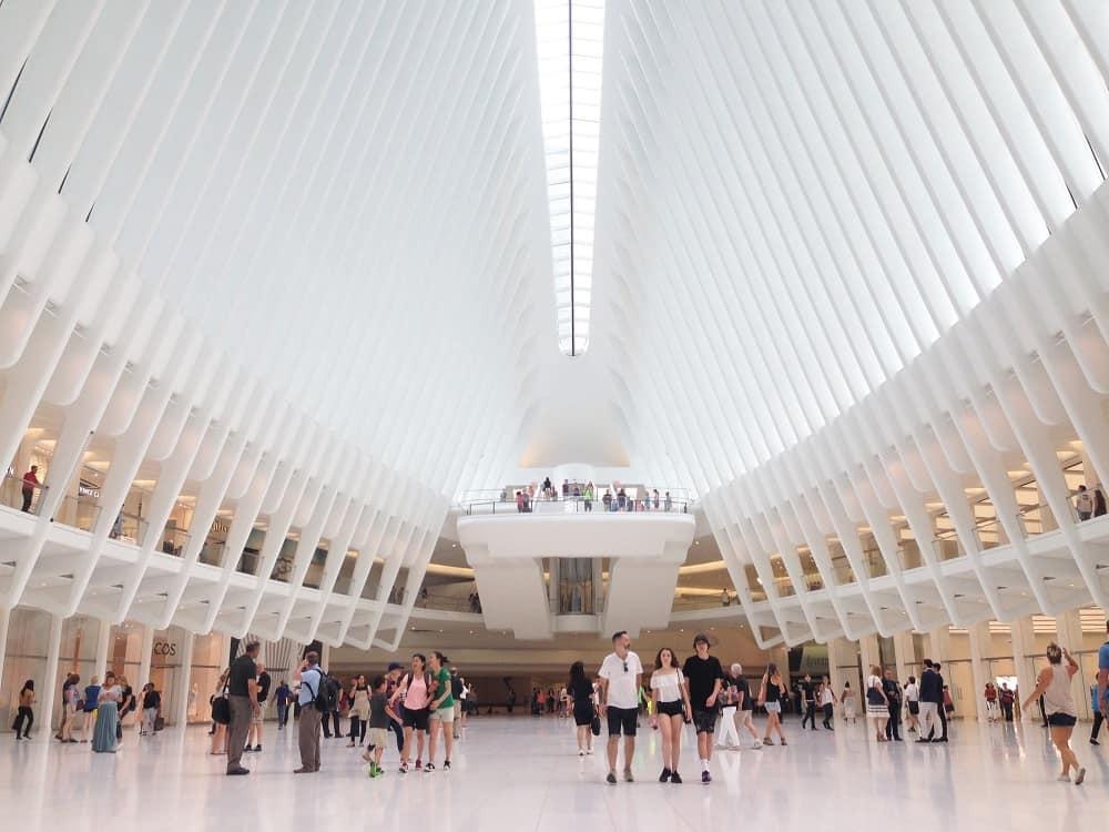 Oculus World Trade Center Nueva York