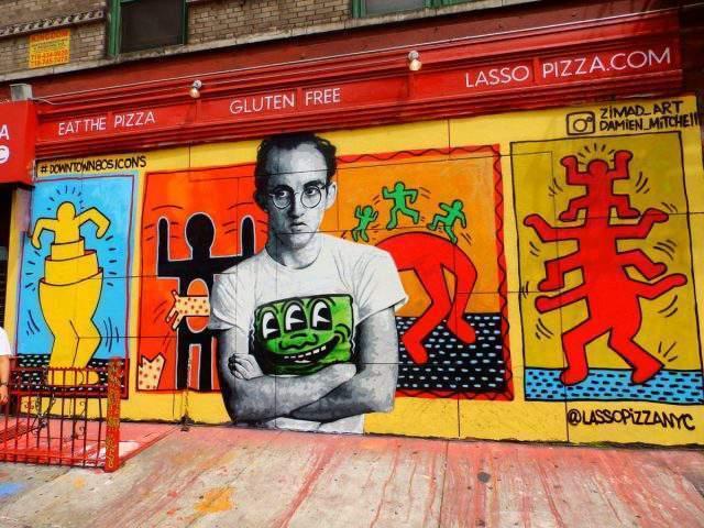 Graffittis en Nueva York