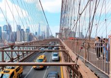 Cruzar el Brooklyn Bridge