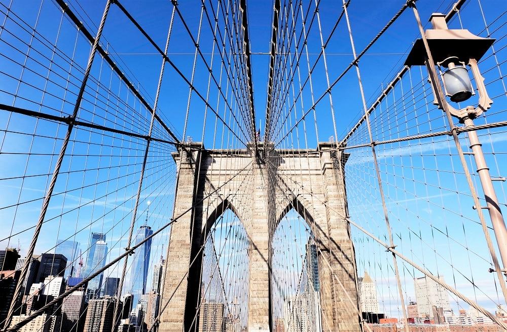 Cruzar el Brooklyn Bridge