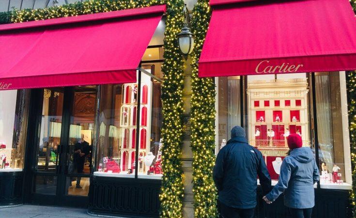 Escaparates Cartier Nueva York