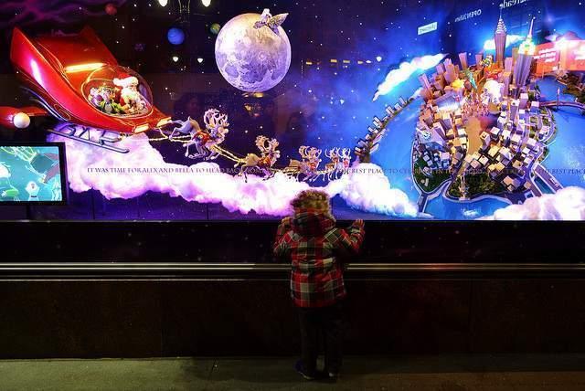 Escaparates Nueva York Navidad