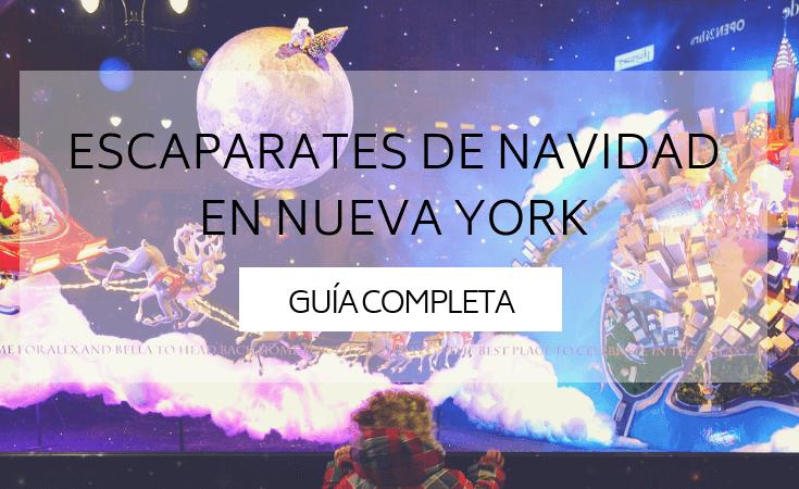 Escaparates Navidad Nueva York