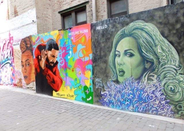 Graffitis NY