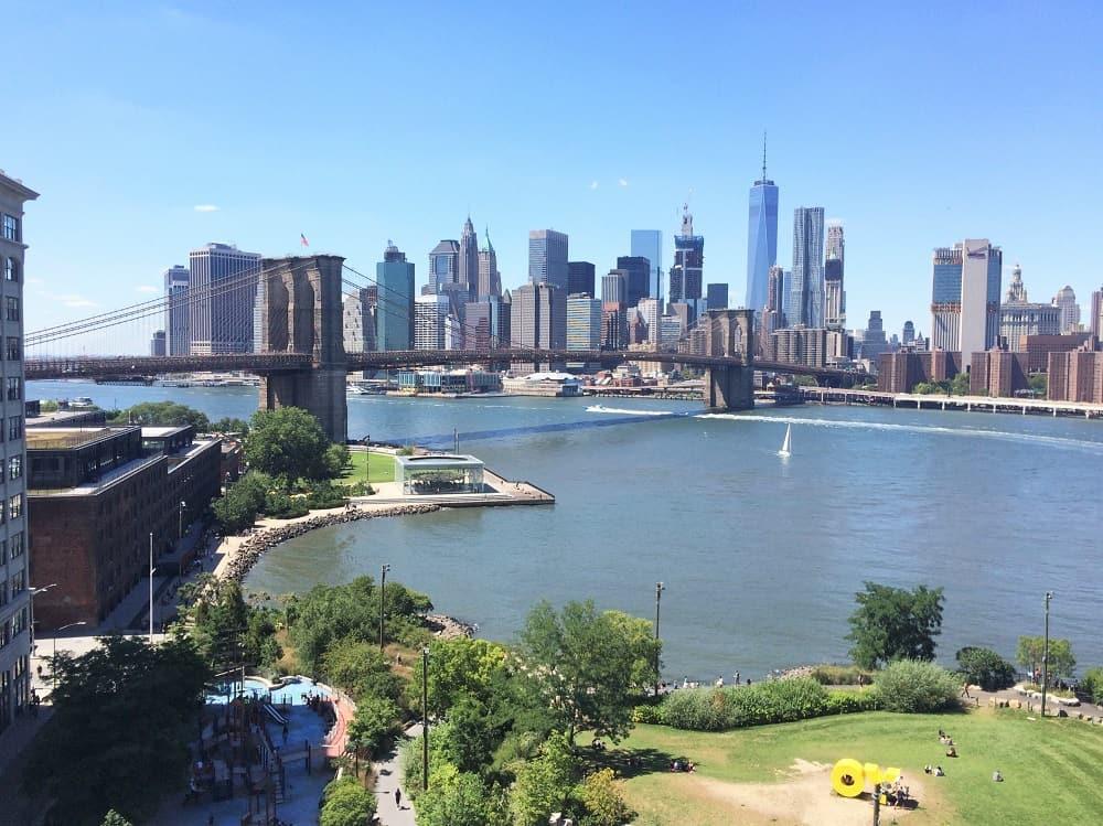 Cruzar el Manhattan Bridge