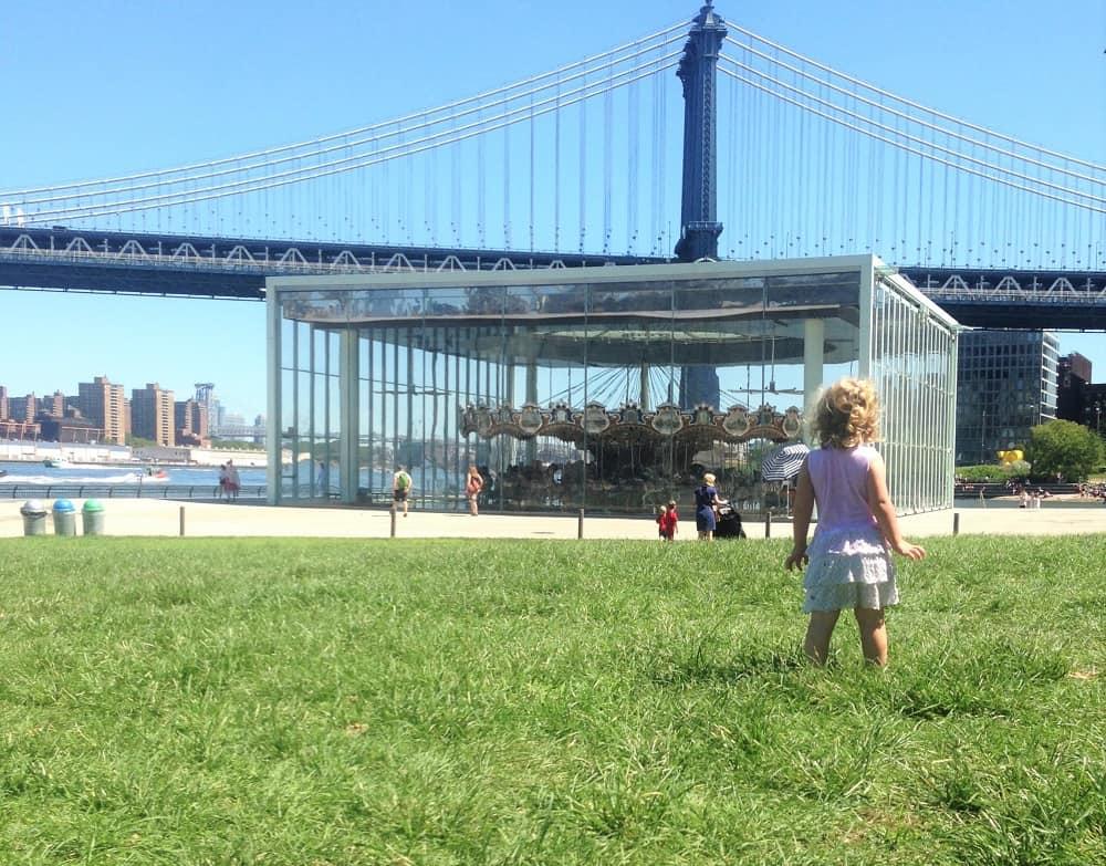 Jane Carousel Brooklyn Bridge Park
