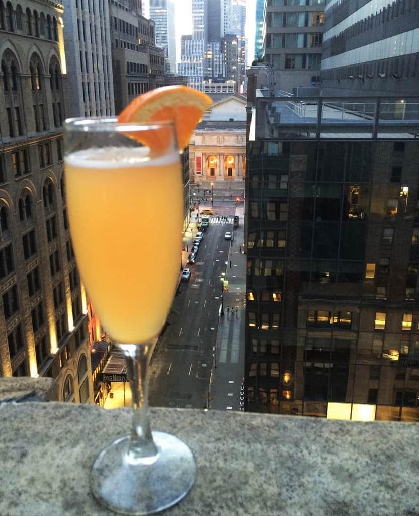 Rooftop Bar Library Hotel NY