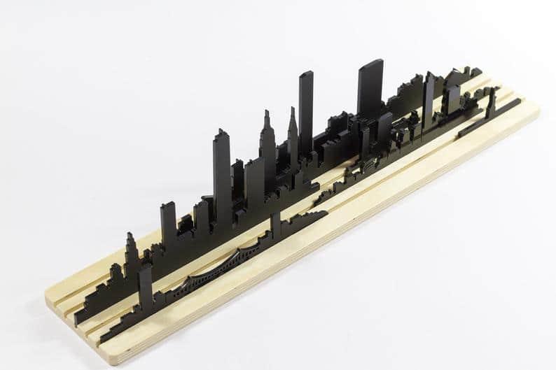 Skyline New York siluetas