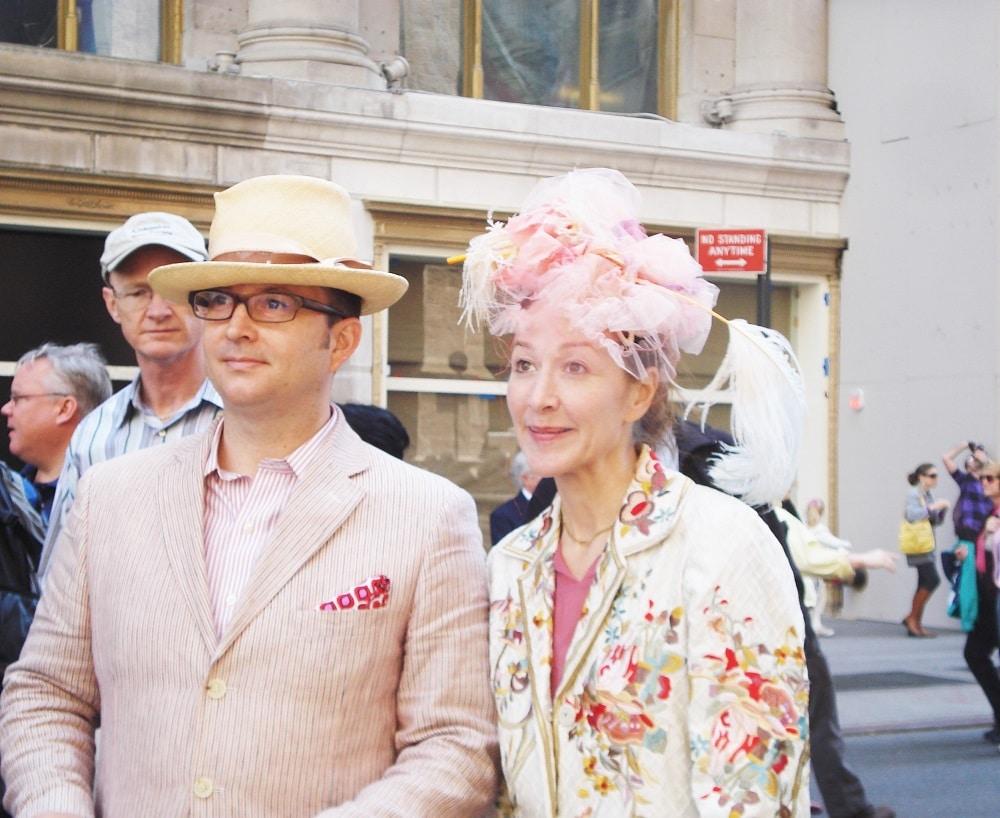 Desfile de sombreros en Nueva York