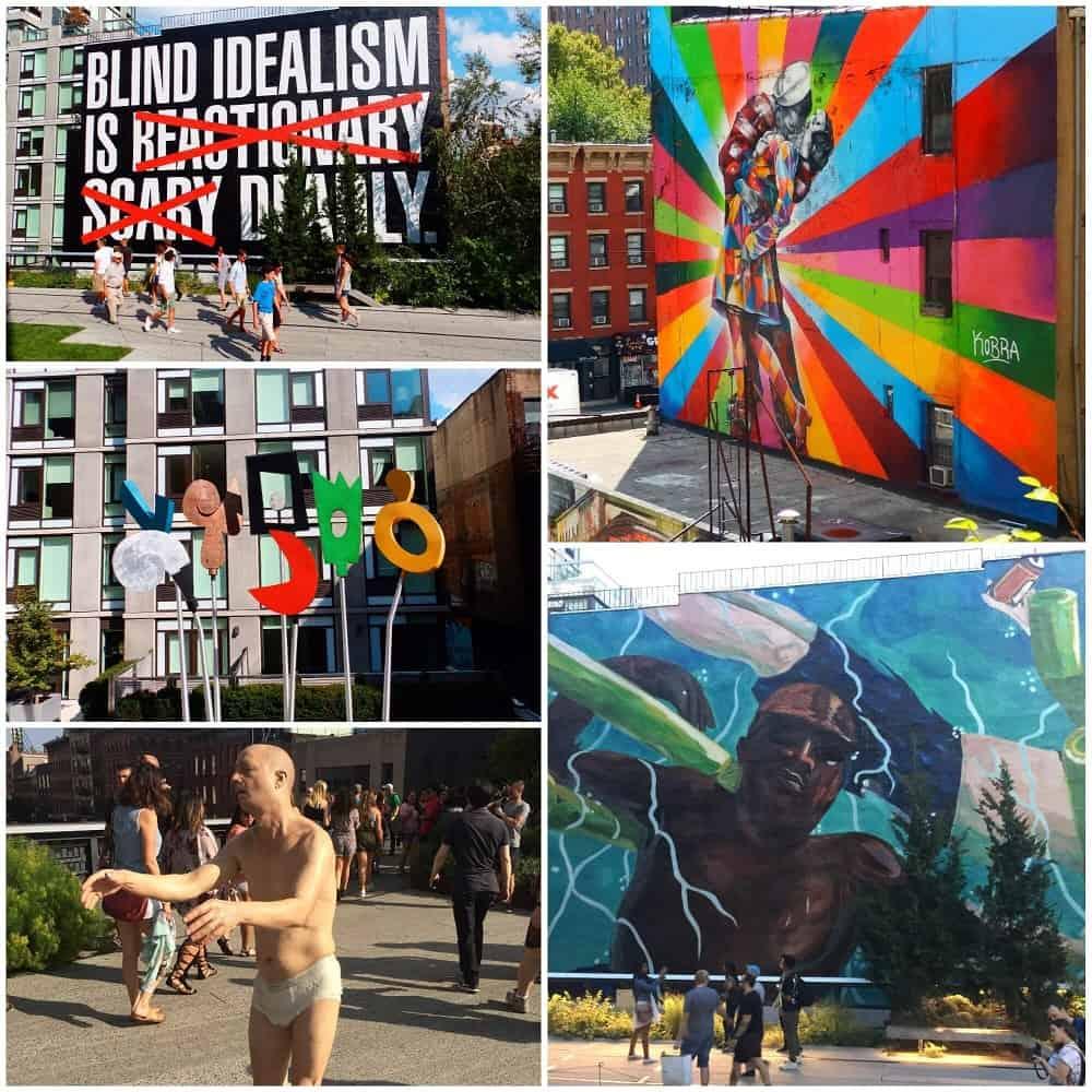 Arte en el High Line