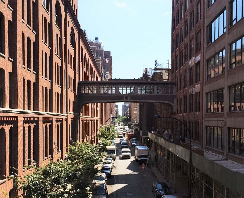 Pasear por el High Line