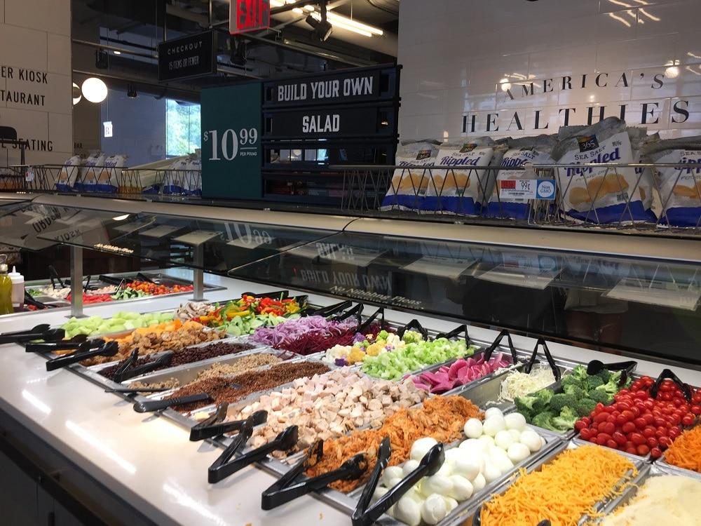 Comida para llevar en Whole Foods Market
