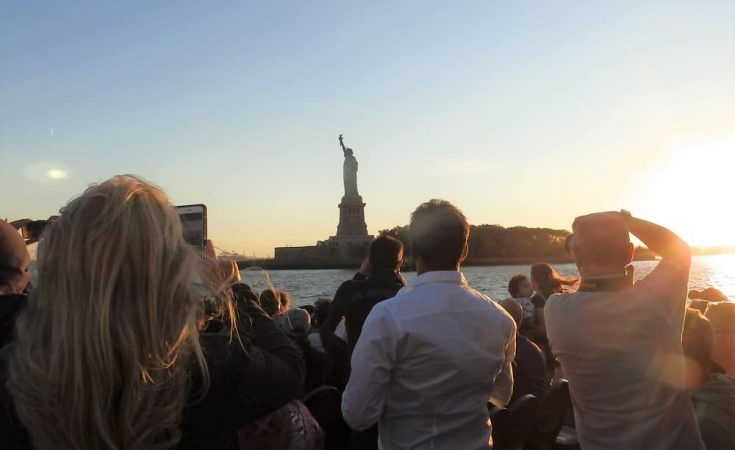 Crucero al atardecer por el Hudson River