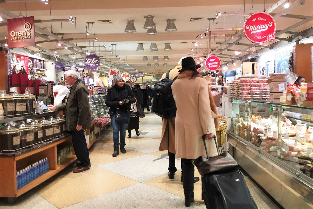 Supermercados en Nueva York - taste grand central market