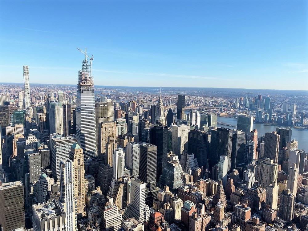Skyline de Manhattan desde el Empire State Building