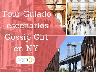 Tour guiado gossip girl nueva york