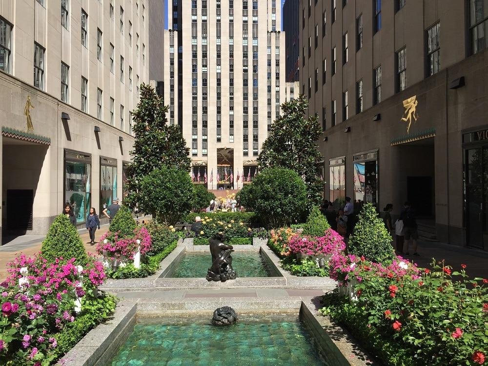 Channel Gardens Manhattan