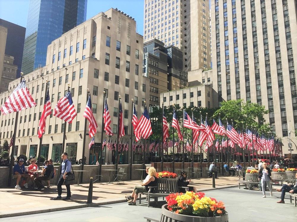 Banderas del Rockefeller Center