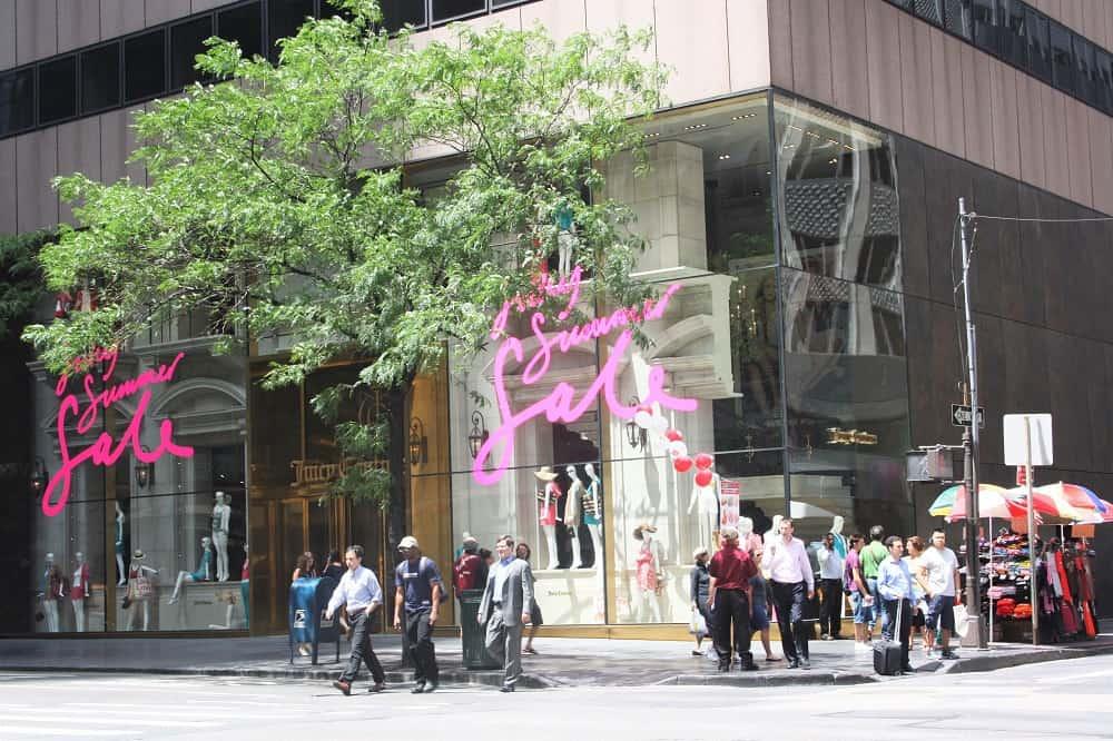 Tiendas en Manhattan