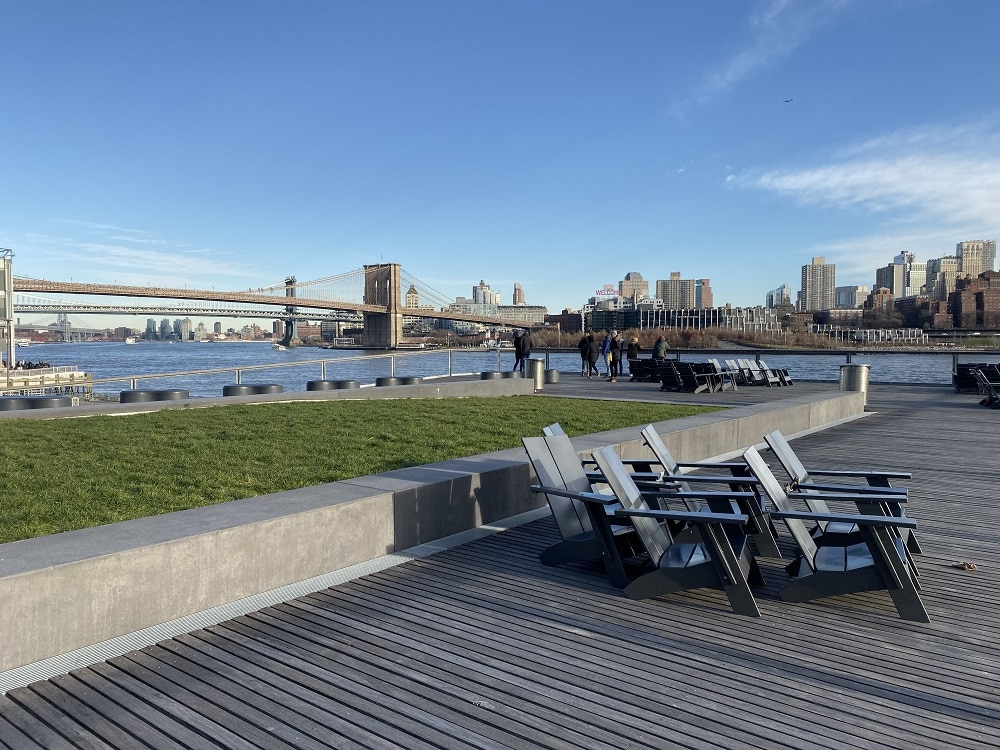 Vistas desde el Pier 15 Manhattan