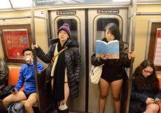 Sin Pantalones en Nueva York
