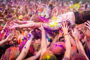 Holi Festival en Nueva York