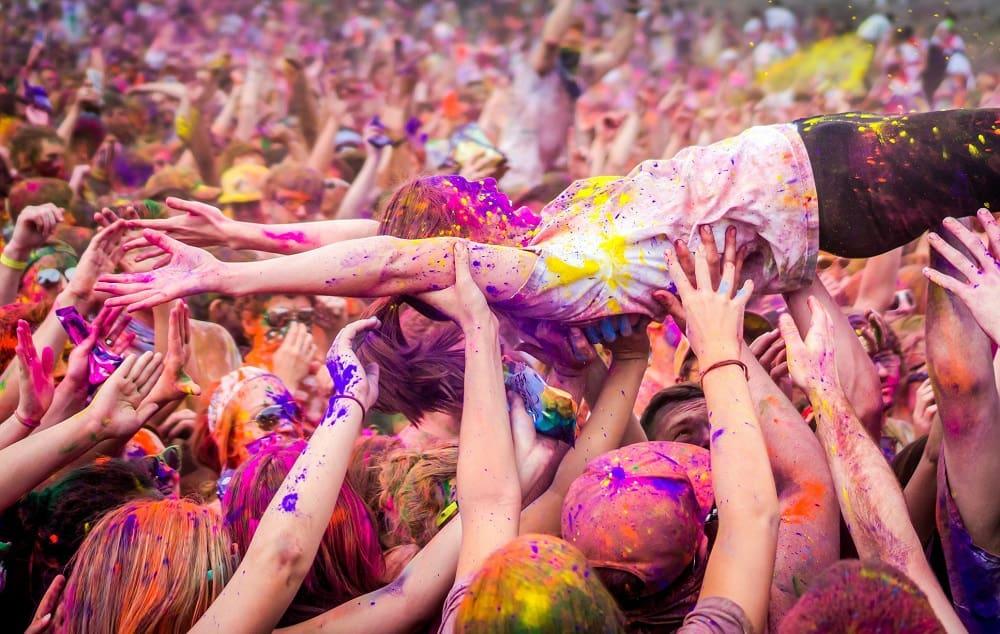 Holi Festival En Nueva York La Fiesta Del Color En Nyc
