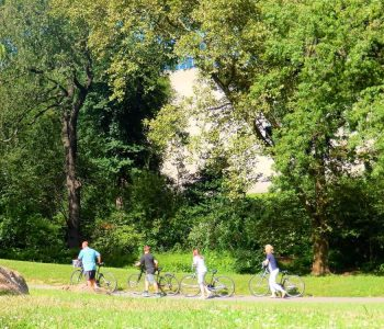 Ruta por Central Park en bici o a pie