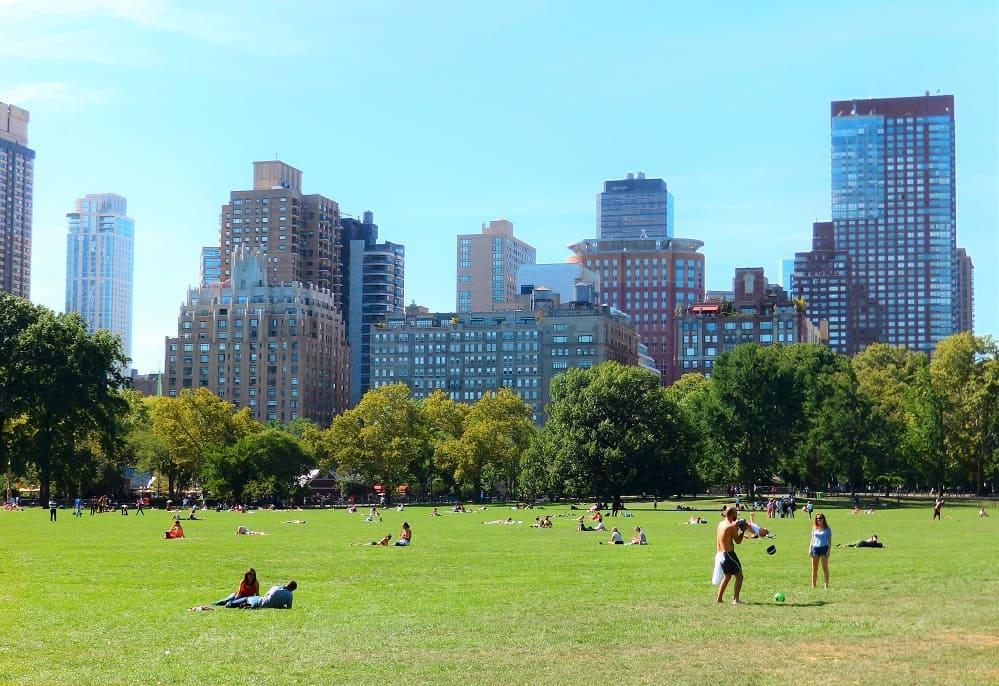 Zonas de Picnic en Central Park