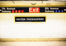 Usar el metro en Nueva York