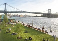 Domino Park en Brooklyn