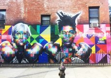 Graffitis en Williamsburg