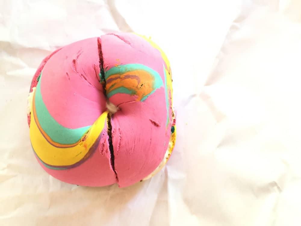 Rainbow Bagel NY