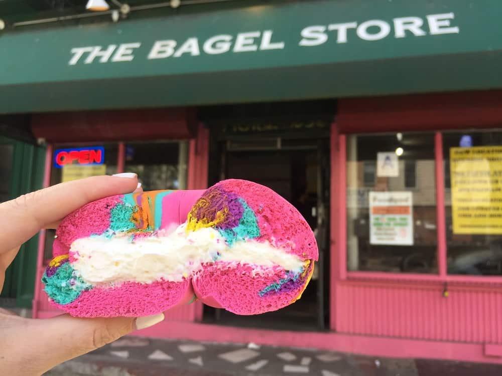 The Bagel Store - RainbowBagel