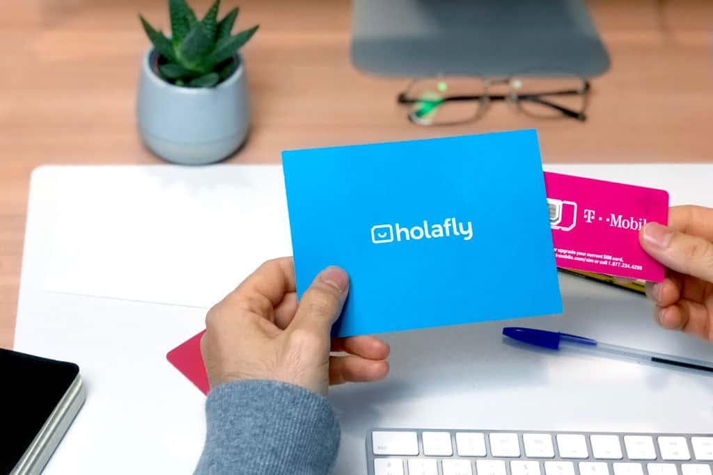 tarjeta sim para viajar a Nueva York - HolaFly