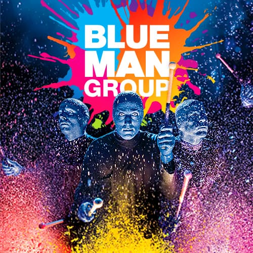 Blue Man Group en Nueva York
