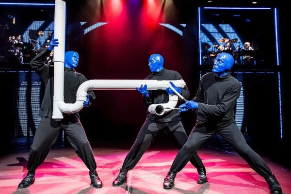 Blue Man Group, el show off-Broadway más famoso de NY