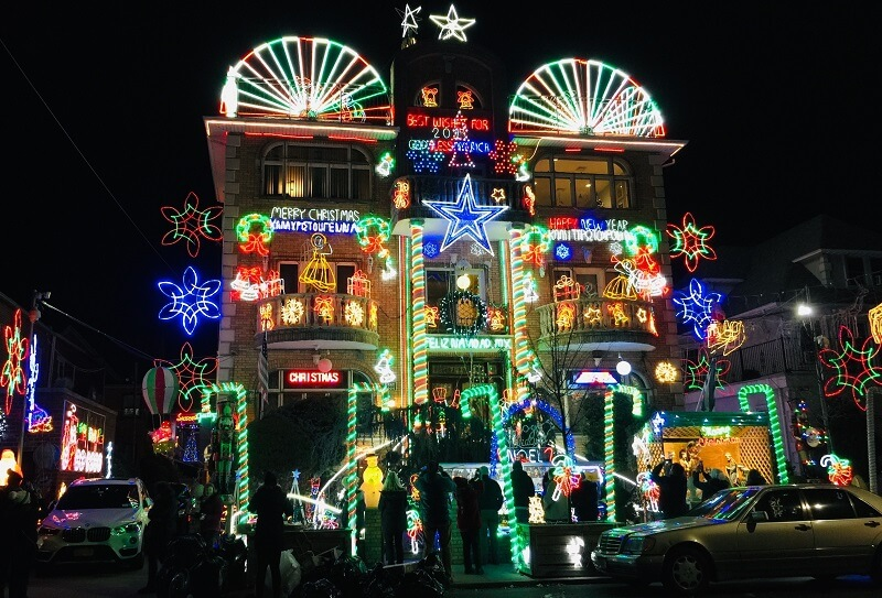 Casas famosas en Dyker Heights