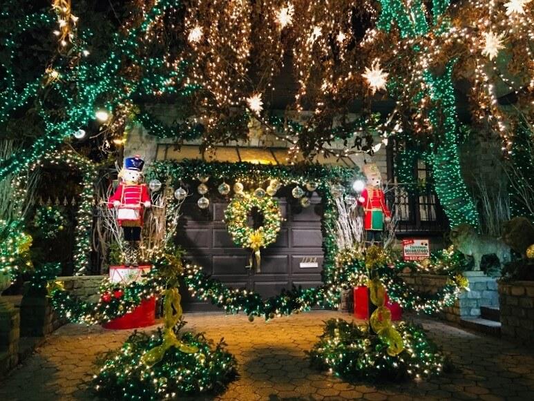 Luces Navidad en Dyker Heights