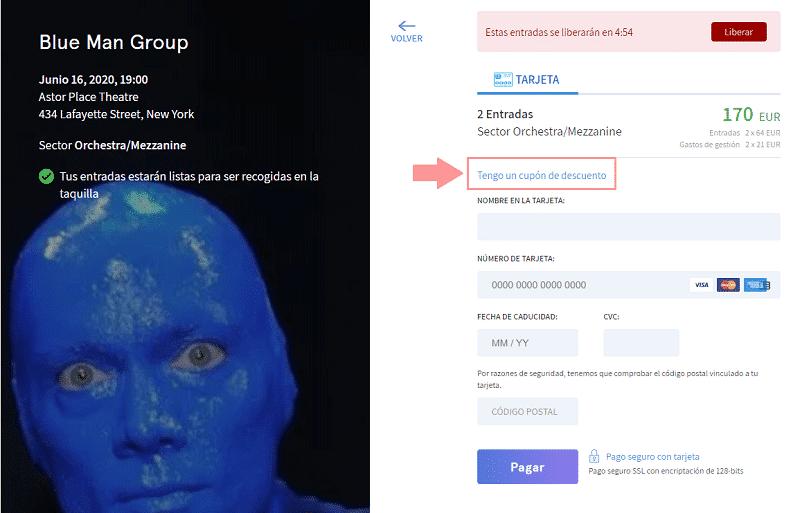 Blue man Group Nueva York