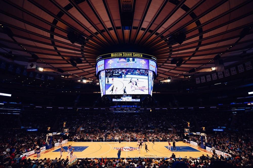 Partido NBA en Nueva York