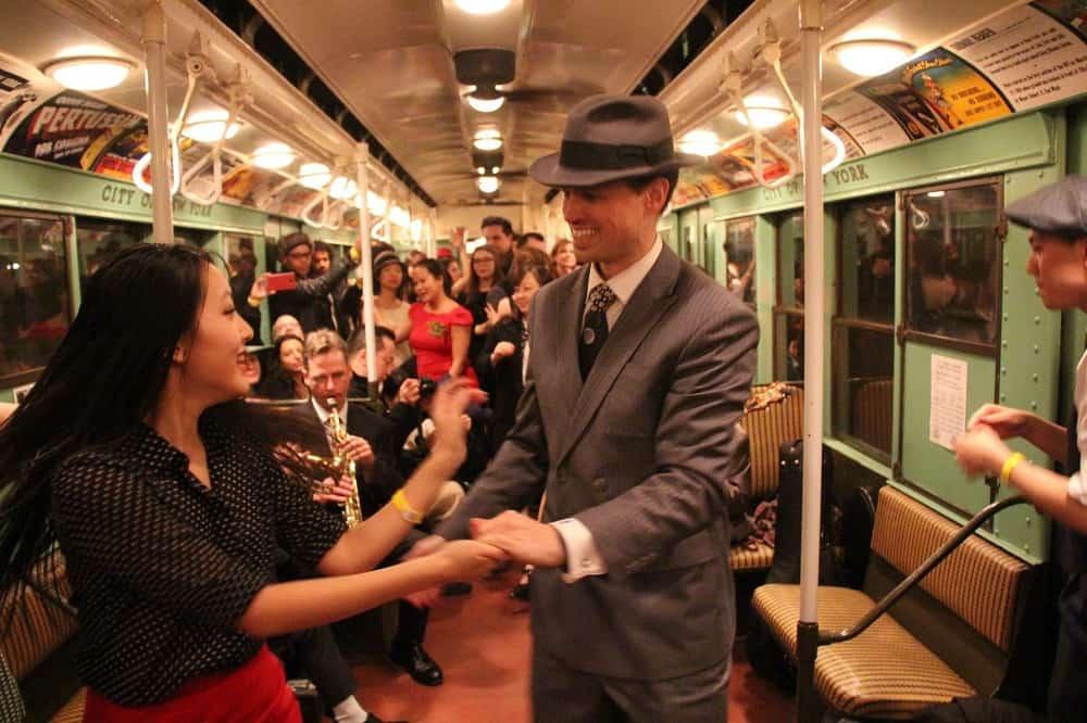 Tren Vintage en Nueva York