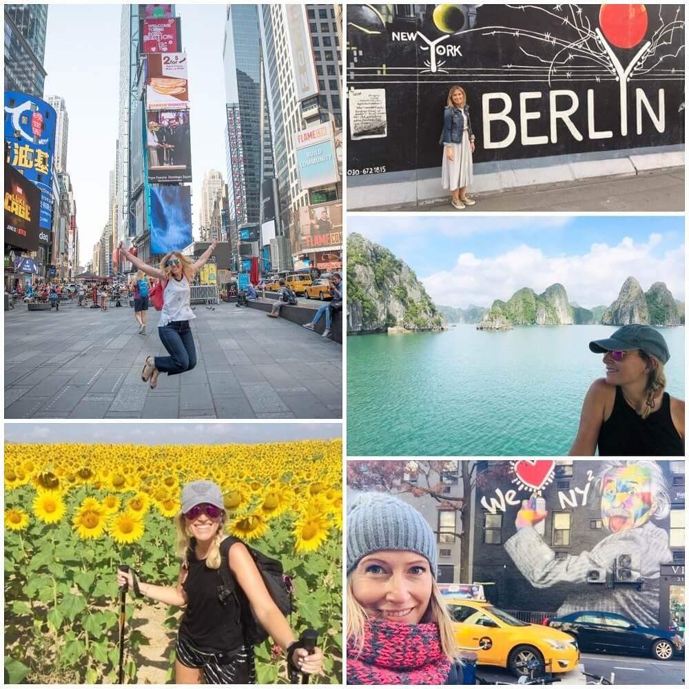 New York, Berlin, Vietnam