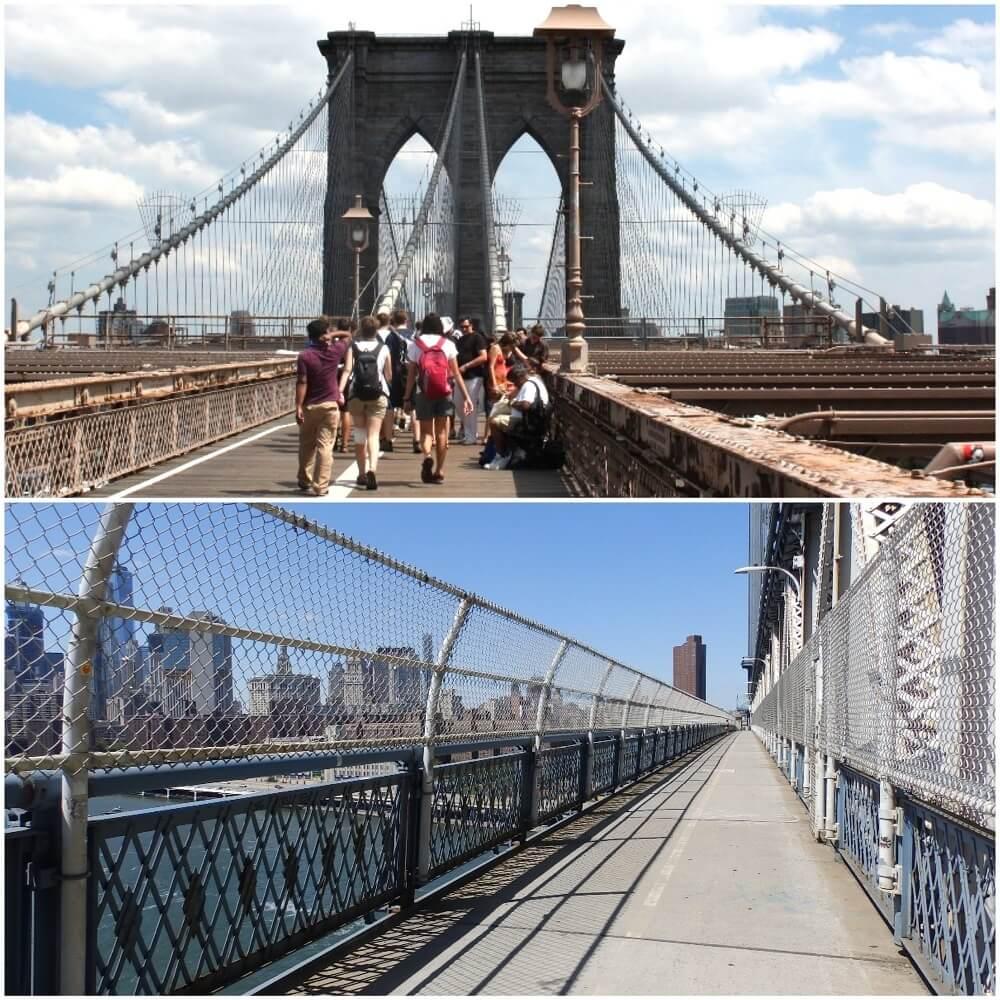 Lugares diferentes en Nueva York
